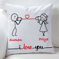 Valentine Couple Love Cushions