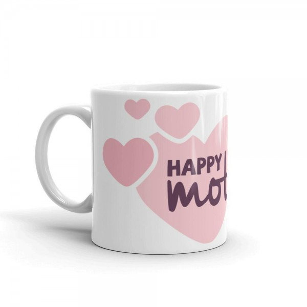 Happy Mothers Day White Ceramic Coffee Mug