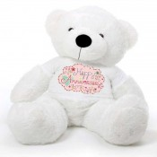 Happy Anniversary Message Teddy Bears (12)