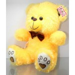 Yellow Puchi Teddy Bear with a Bow
