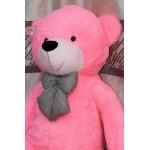 5 Feet Pink Teddy Bear with a Bow