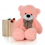 Huge 6 Feet Pink Bow Teddy Bear Soft Toy 180 cm