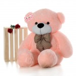 Low Cost 5 Feet Long Pink Teddy Bear Soft Toy 152 cm