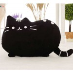 Cute Stuffed Black Cat Plush Animal Soft Toy