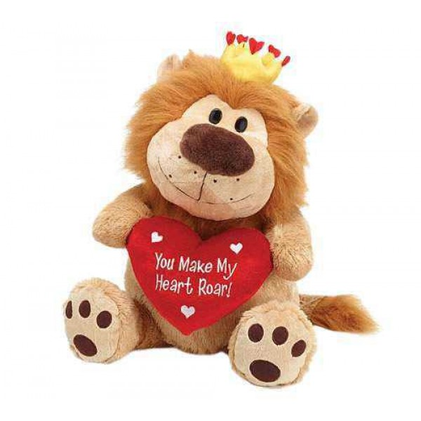 Brown 15 Inch Lion King of the Jungle Animal Soft Toy