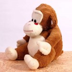Cute 15 Inch Cream and Brown Curious George Monkey Animal Soft Toy