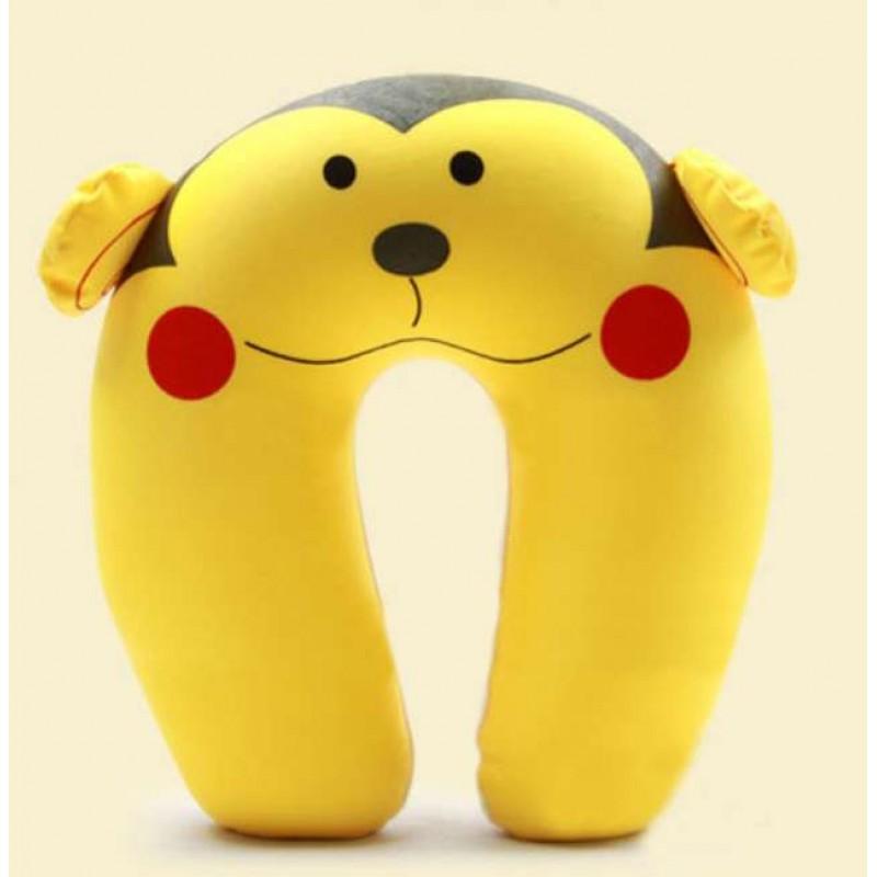 Buy Cute Monkey U Shape Feeding & Nursing Baby Neck Pillow Online at Lowest Price in India ...