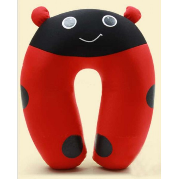 Cute Ladybug U Shape Feeding & Nursing Baby Neck Pillow