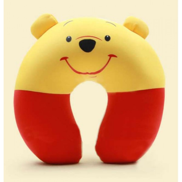 Cute Pooh U Shape Feeding & Nursing Baby Neck Pillow