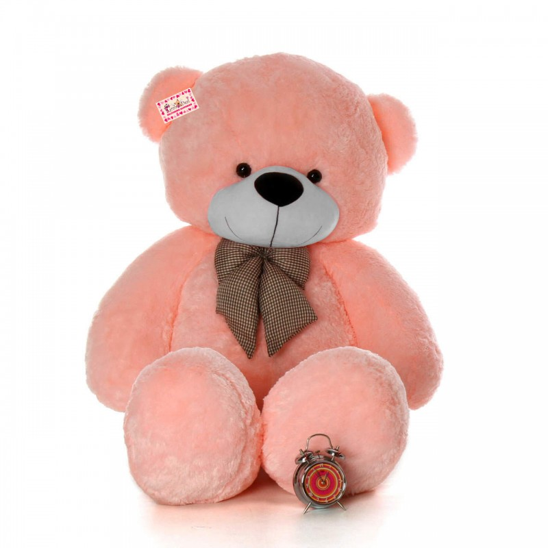 0515eef84000 Buy Super Giant 7 Feet Pink Bow Teddy Bear Soft Toy Online at Lowest Price  in India