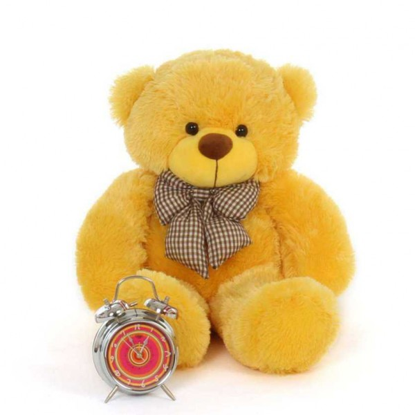 2 Feet Yellow Teddy Bear with a Bow