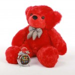 2 Feet Red Teddy Bear with a Bow