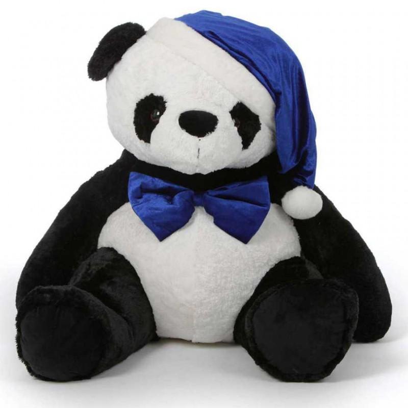 Buy 5 Feet Special Christmas Papa Panda Plush Teddy Bear Online At
