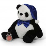 3.5 Feet Special Christmas Papa Panda Plush Teddy Bear