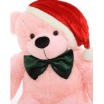 5 Feet Special Christmas Pink Plush Teddy Bear