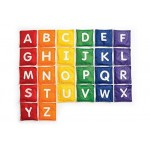 Multicolor Uppercase Lowercase Educational Alphabet Cushions
