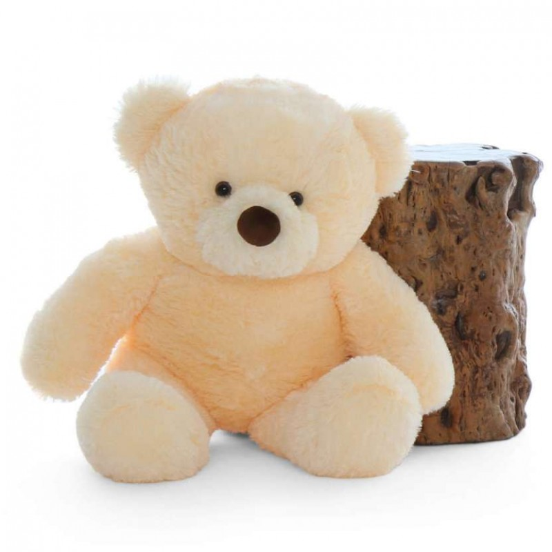26a48dc163bf Buy 2.5 Feet Fat and Huge Peach Teddy Bear Online at Lowest Price in India