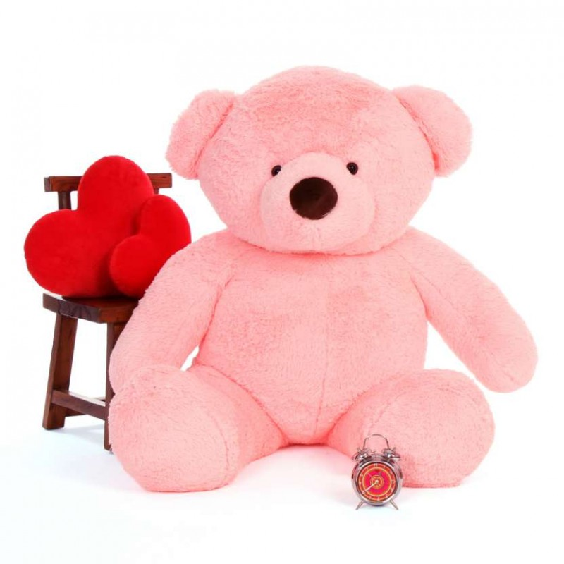 c2bd03ef82a2 Buy 5 Feet Fat and Huge Pink Teddy Bear Online at Lowest Price in India