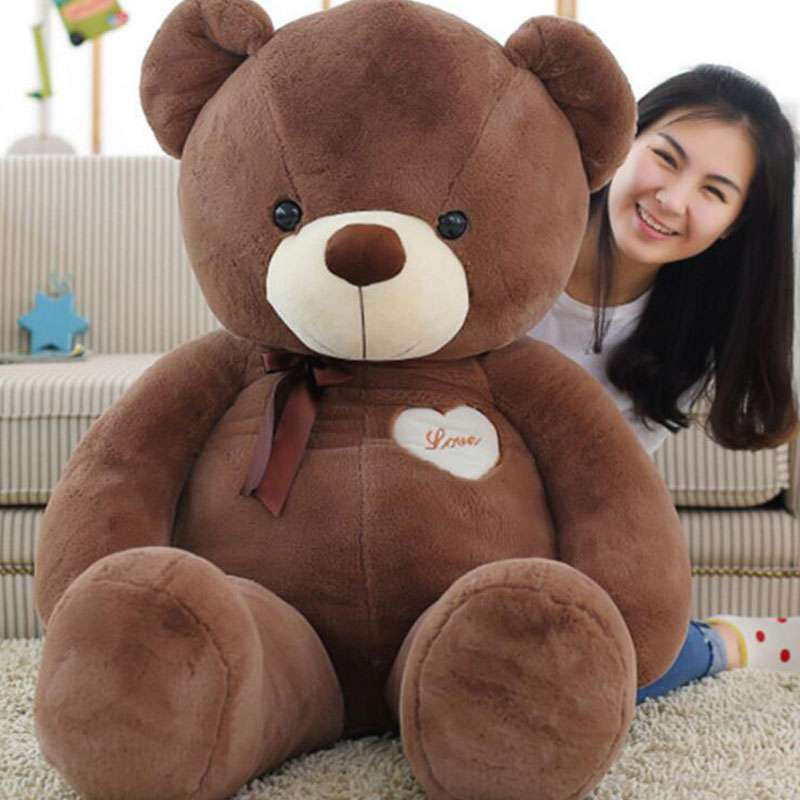 a2eb986be9a Buy 5 Feet Fat and Huge Brown Love Teddy Bear Online at Lowest Price in  India