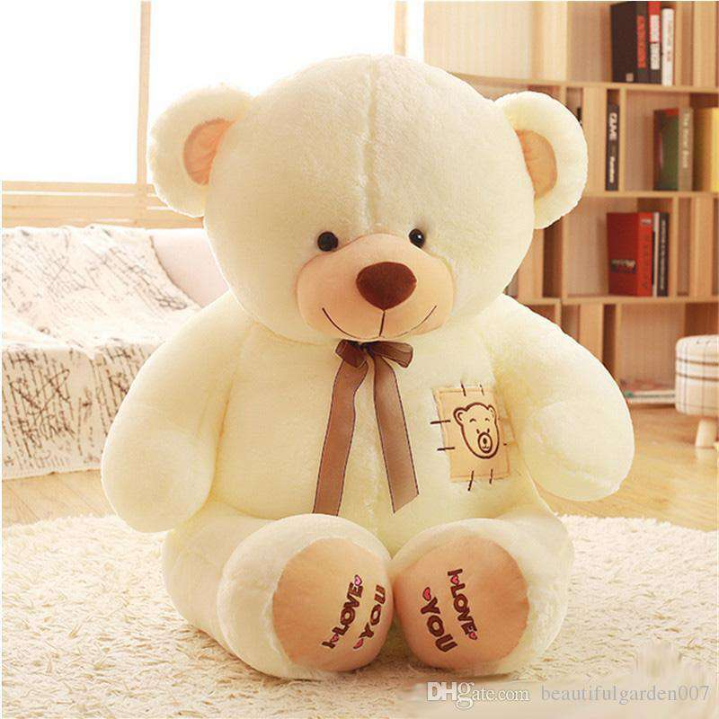98113177e106 Buy 5 Feet Fat and Huge White I Love You Teddy Bear Online at Lowest Price  in India