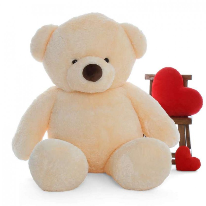 buy 6 feet fat and huge peach teddy bear online at lowest price in