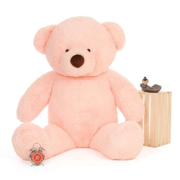 6 Feet Fat and Huge Pink Teddy Bear