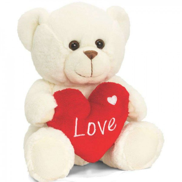 e79afdf982 Buy Cute Love Teddy Bear with Heart Online at Lowest Price in India |  GRABADEAL