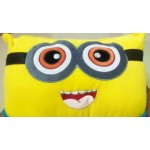 Big Minion Plush Soft Toy Cushion with 3D Eyes Pillow Cushion