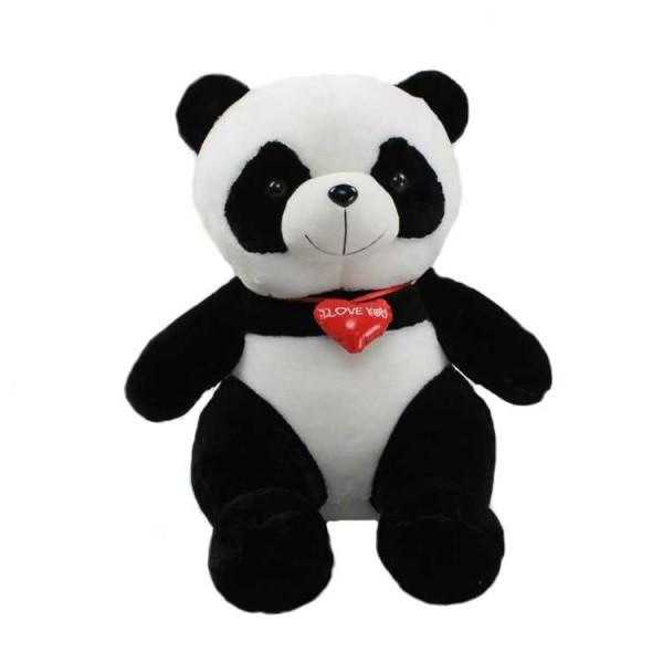 2 Feet Panda Soft Toy With I Love You Heart