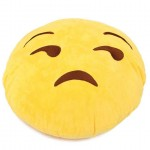 Lonely Smiley Cushion looking with Side Eyes