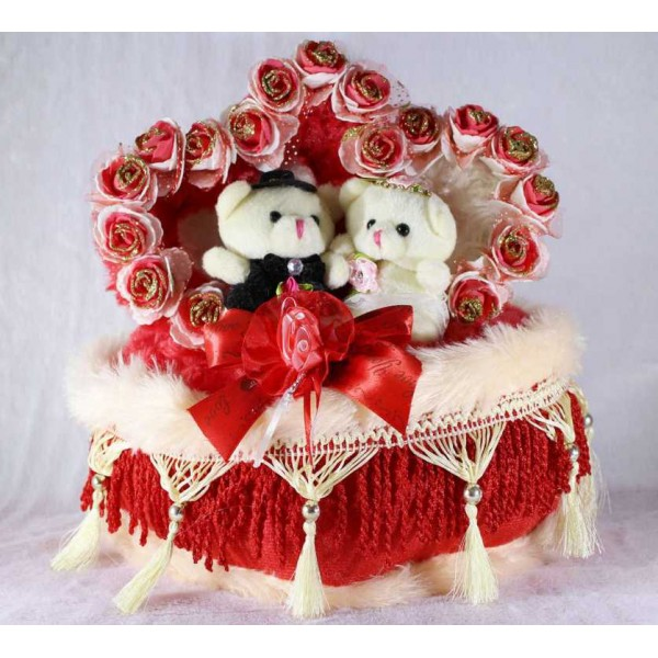 Buy Beautiful Love Couple Teddy Bears Sitting On A