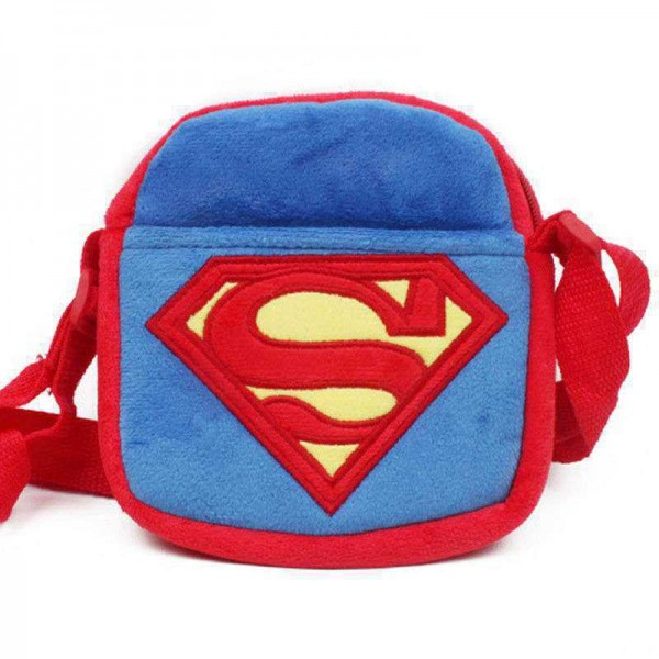 Blue and Red S Sling Baby Bag Stuffed Soft Plush Toy