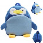 Navy Blue Penguin Baby Bag Stuffed Soft Plush Toy