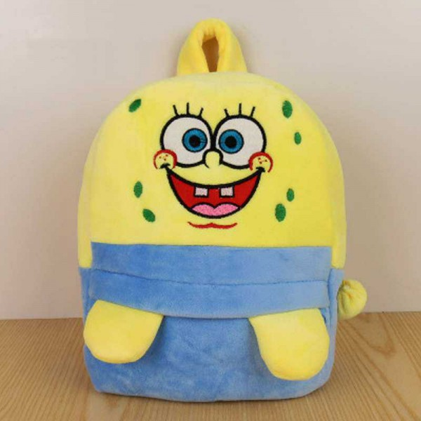 Personalized Yellow Spongy Baby Bag Stuffed Soft Plush Toy