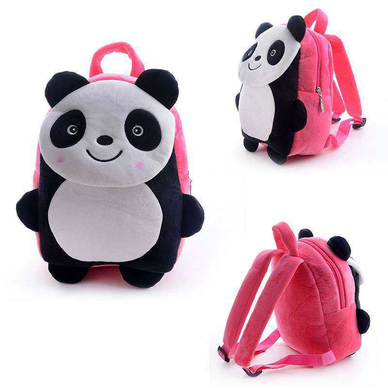 d44109fc6f24 Buy Cute Pink Smiling Panda Baby Bag Stuffed Soft Plush Toy Online at Lowest  Price in India | GRABADEAL