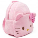 Personalized Pink Kitty Baby Bag Stuffed Soft Plush Toy