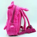 Cute Dark Pink Melody Baby Bag Stuffed Soft Plush Toy
