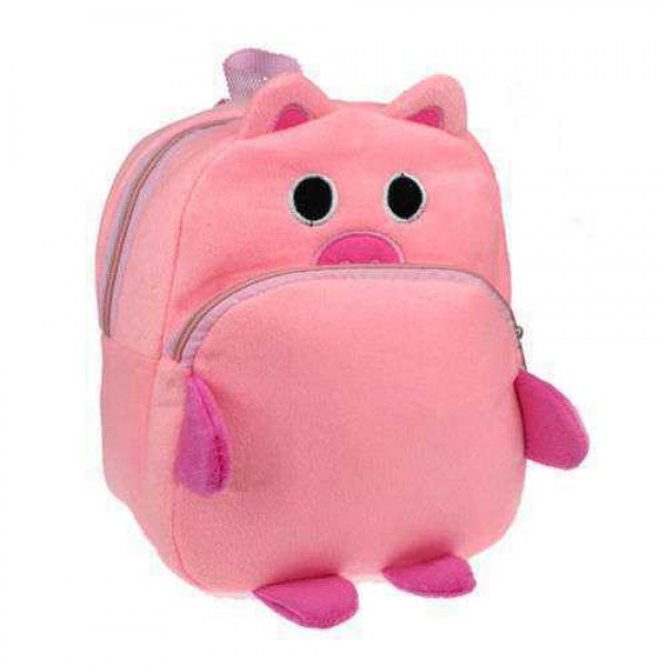 Pink Piggy Baby Bag Stuffed Soft Plush Toy