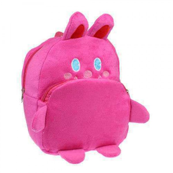 Pink Bunny Rabbit Baby Bag Stuffed Soft Plush Toy