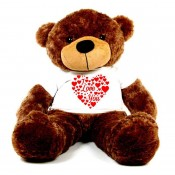 I Love You Heart T-shirt Teddy Bears (5)