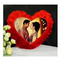 Heart Shaped Photo Cushions